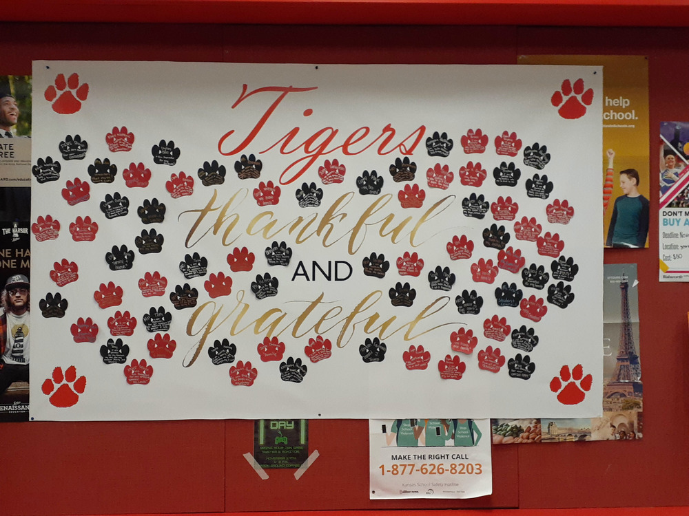 FSHS Student Council's Thanksgiving Poster